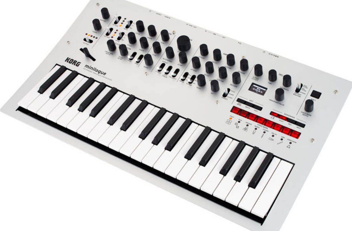 Korg Updates Minilogue and Monologue To 2.0