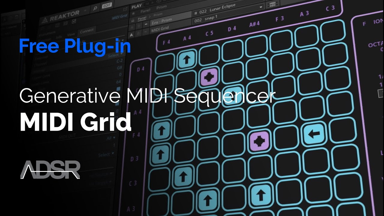 Video related to MIDI Grid