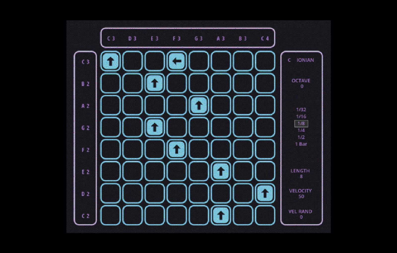 MIDI Grid