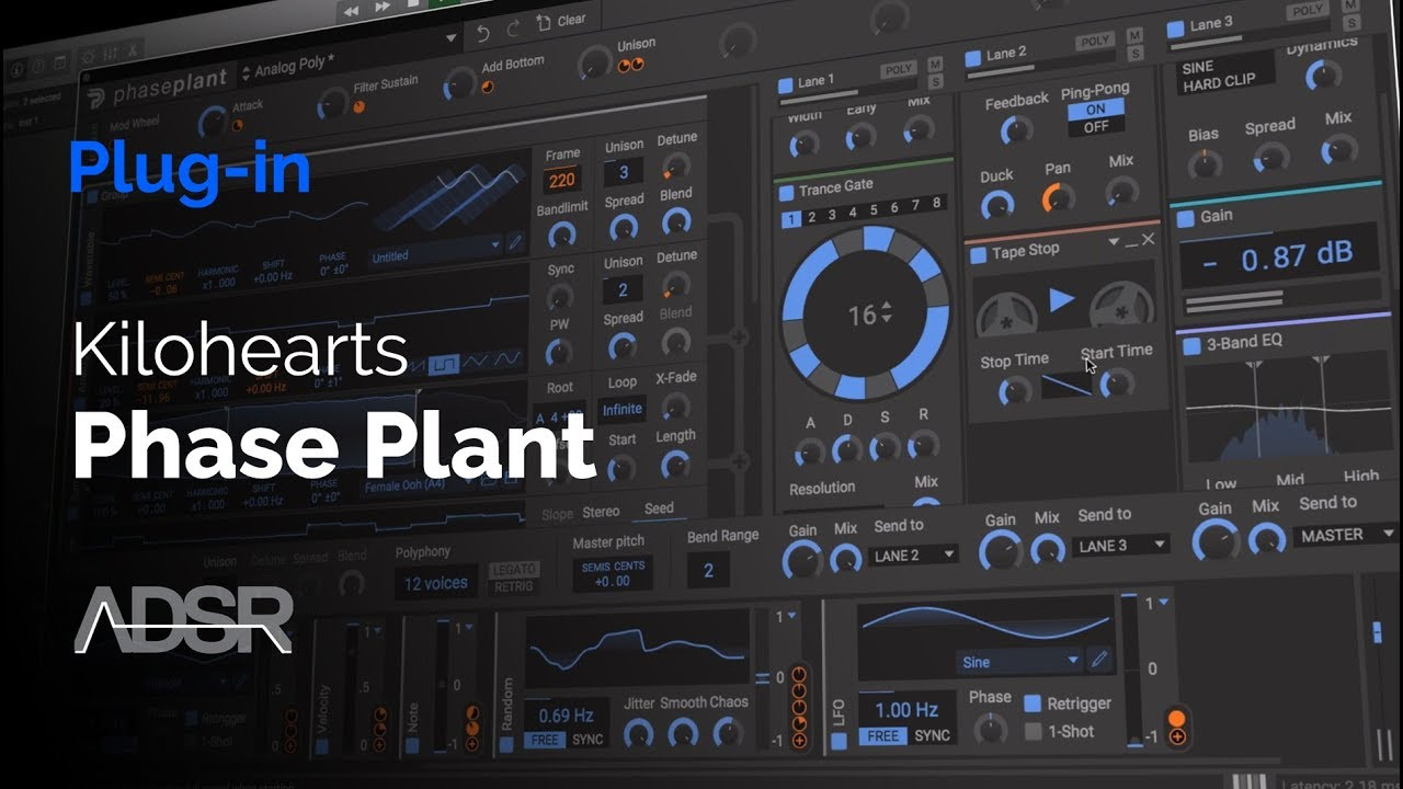 Video related to Phase Plant Kilohearts Toolbox Starter