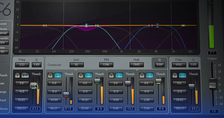 Multi-Band Compression for Vocal Production