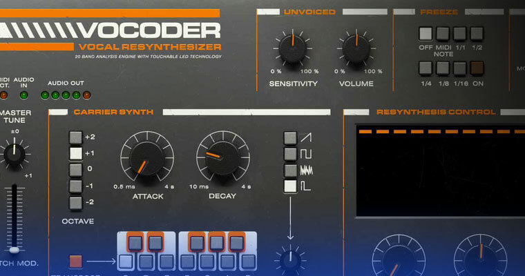 Using Vocoder Effects in Vocal production