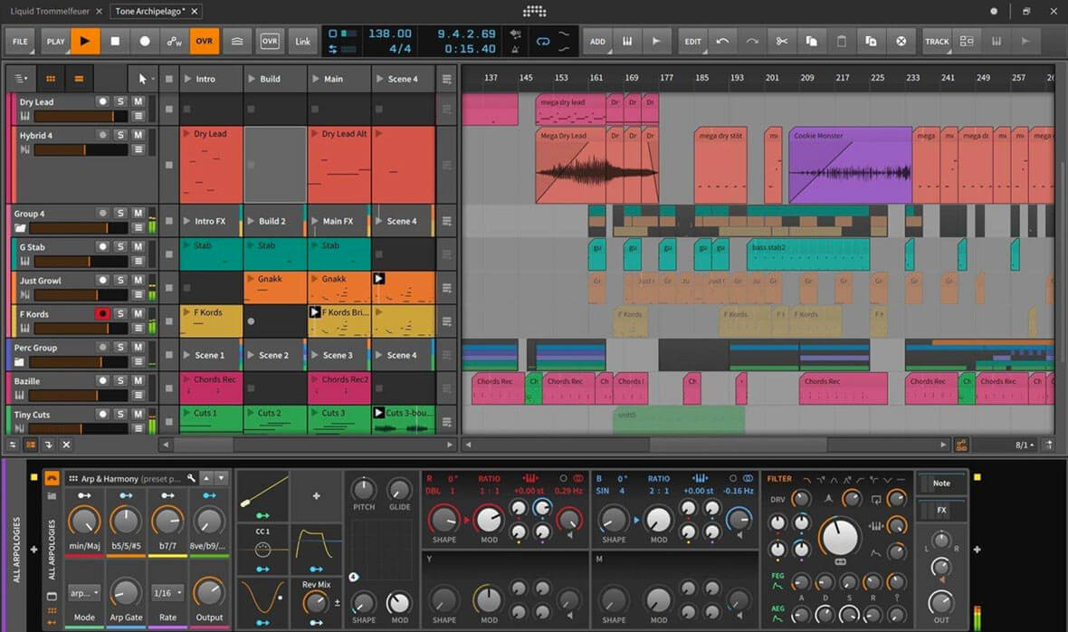 "Bitwig Releases Bitwig Studio 3, Launches ""The Grid"""