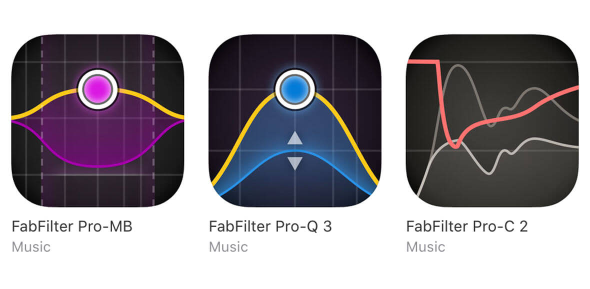 FabFilter Makes All Pro Plugins Available For iOS