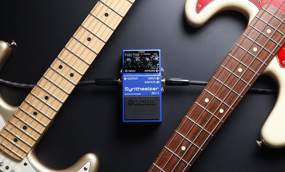 The BOSS SY-1 Synthesizer Transforms Guitar and Bass Into A Synthesizer