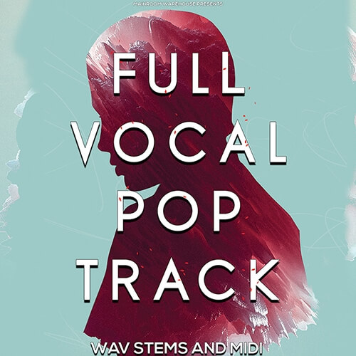 Full Vocal Pop Track Stems & MIDI