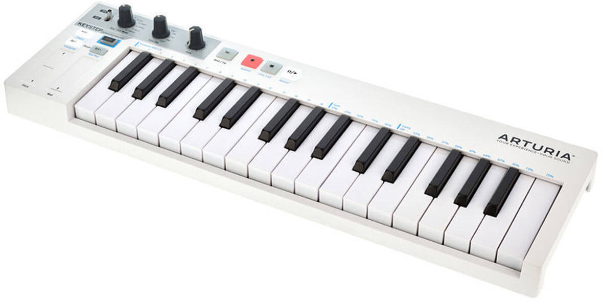 Arturia Releases Firmware Update 1.1 For KeyStep MIDI Controller