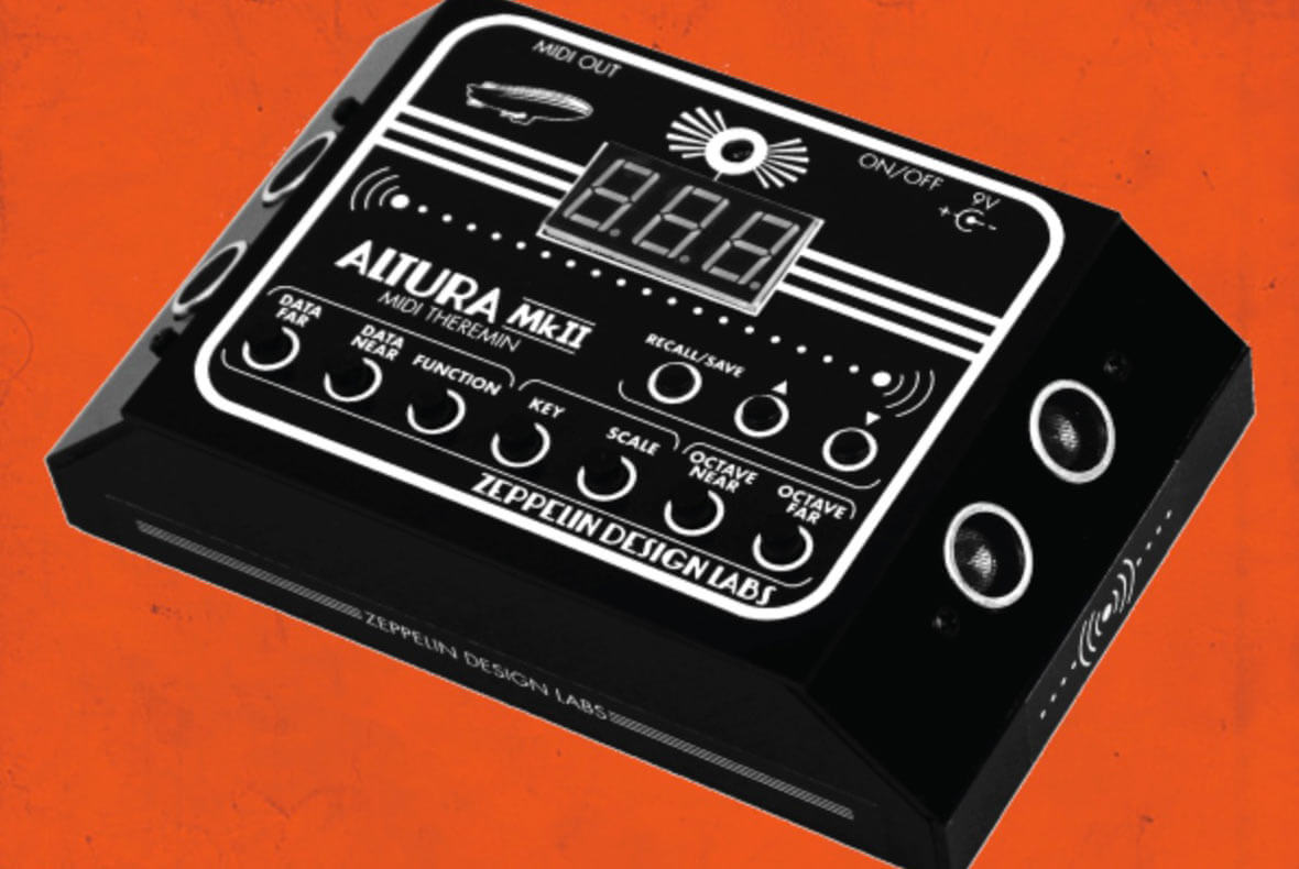 The Altura MkII Is A MIDI Controller That Emulates A Theremin