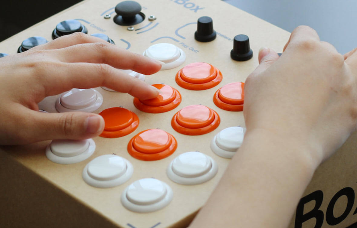 BeatBox Is A Battery-Powered, Cardboard DIY Drum Machine