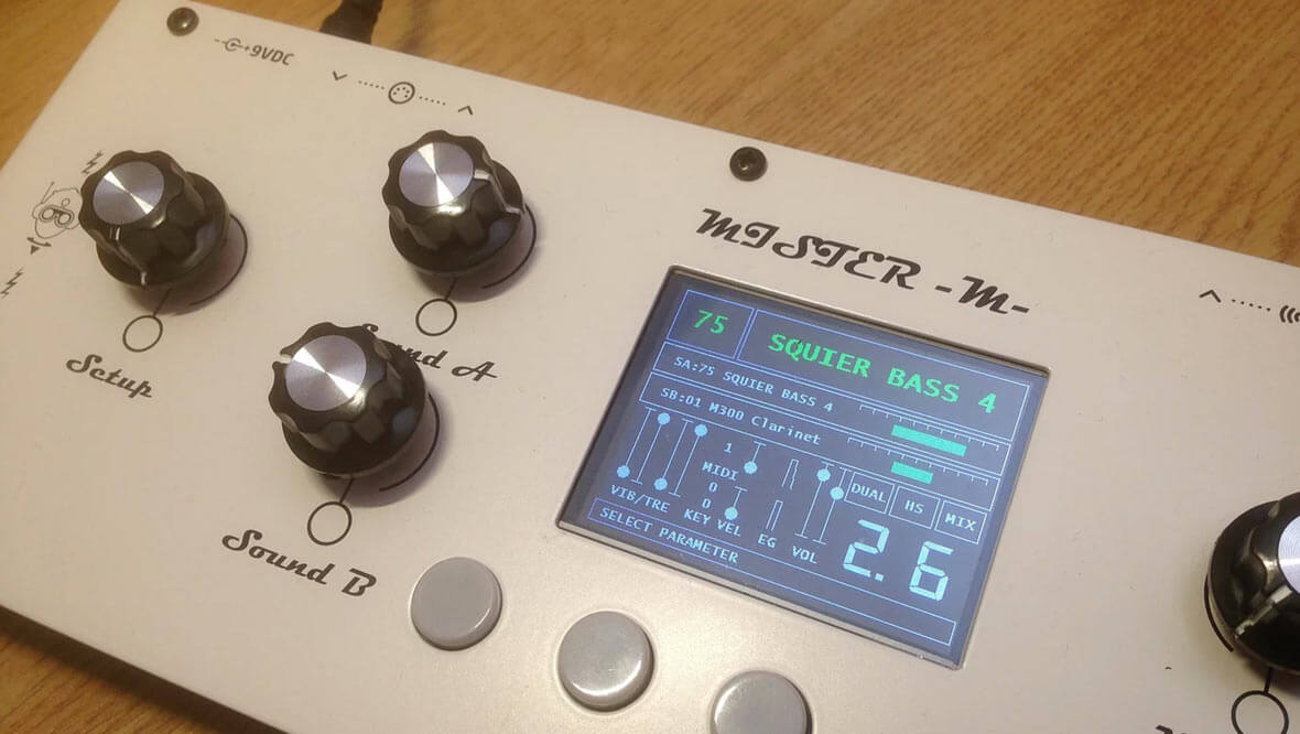 The MISTER -M- Is A Powerful, 14 Voice Wave Player