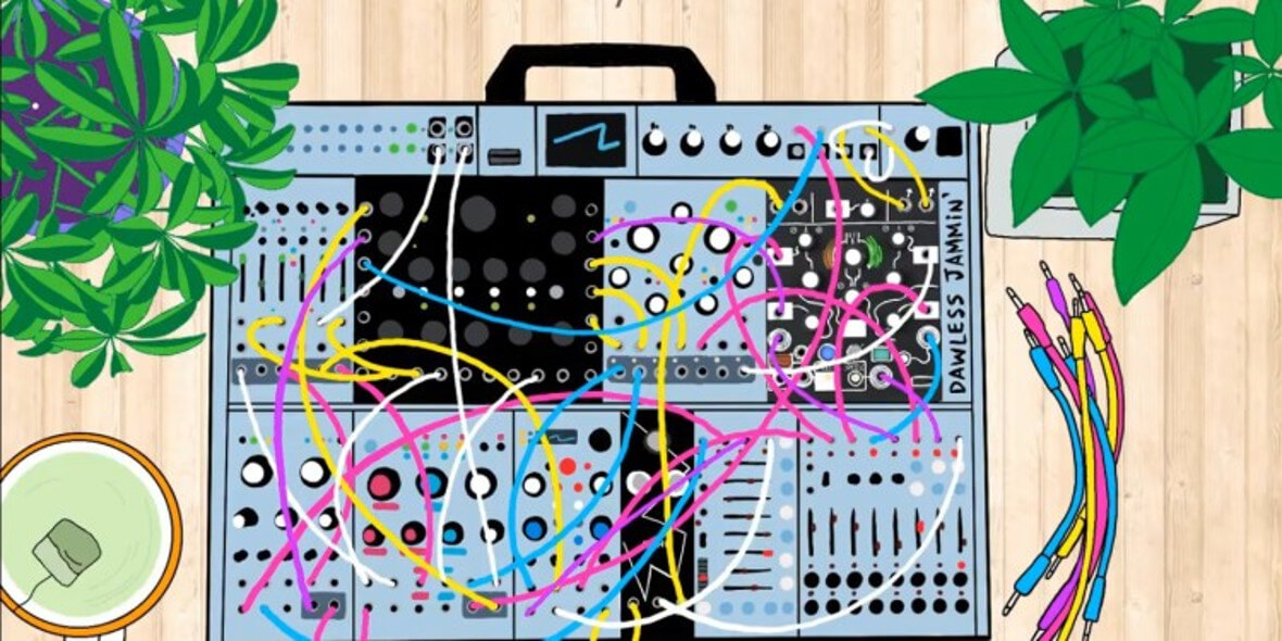Float Into Bliss With This 24/7, Ambient Modular Synth Radio