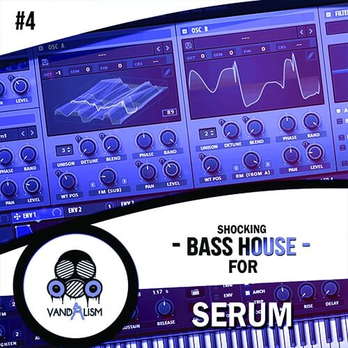 Shocking Bass House For Serum 4
