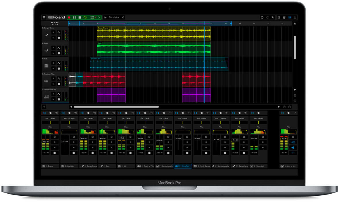 Roland Releases Cross-Platform Music Creation App, Zenbeats