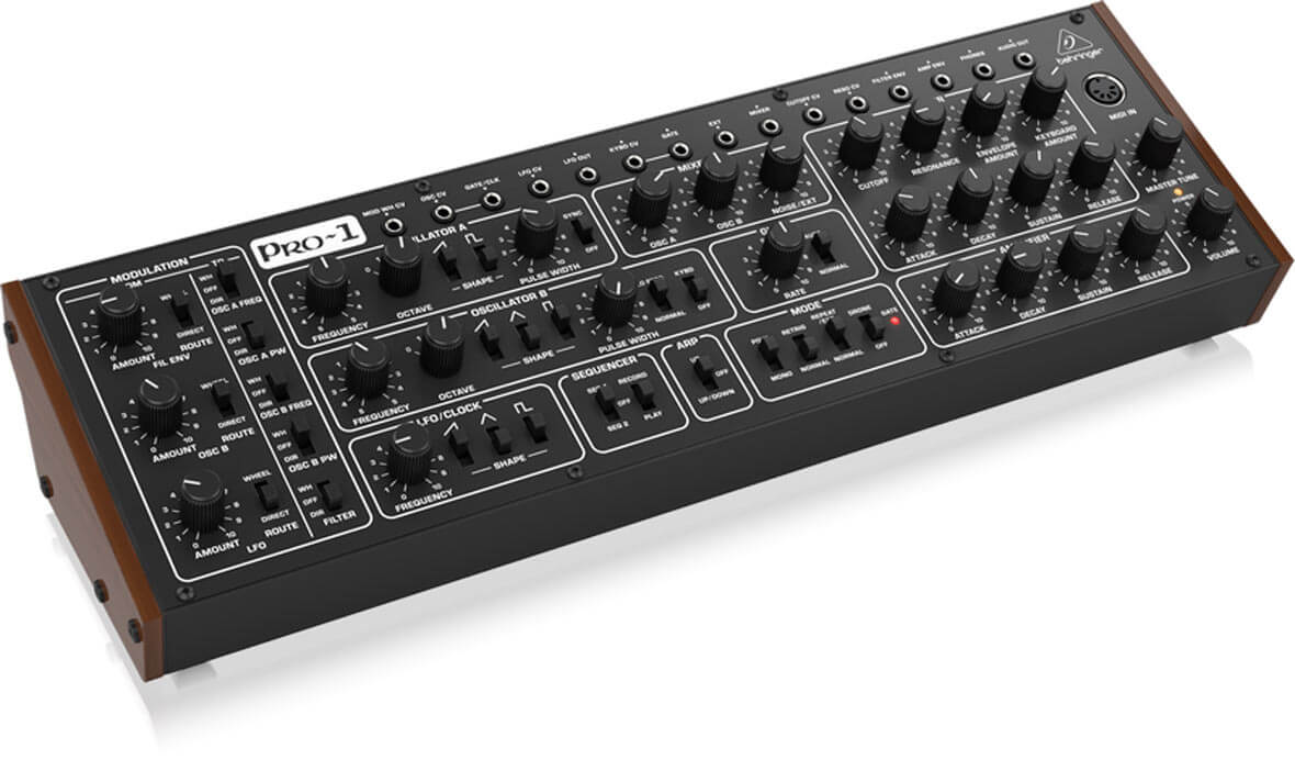 Watch Behringer Show Off Their New PRO-1 Synthesizer
