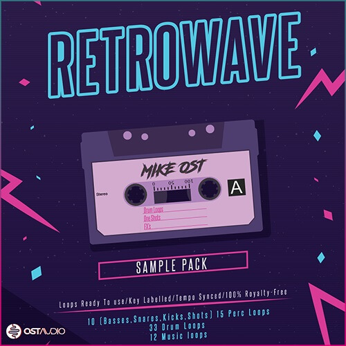 Retrowave Cassette Tape