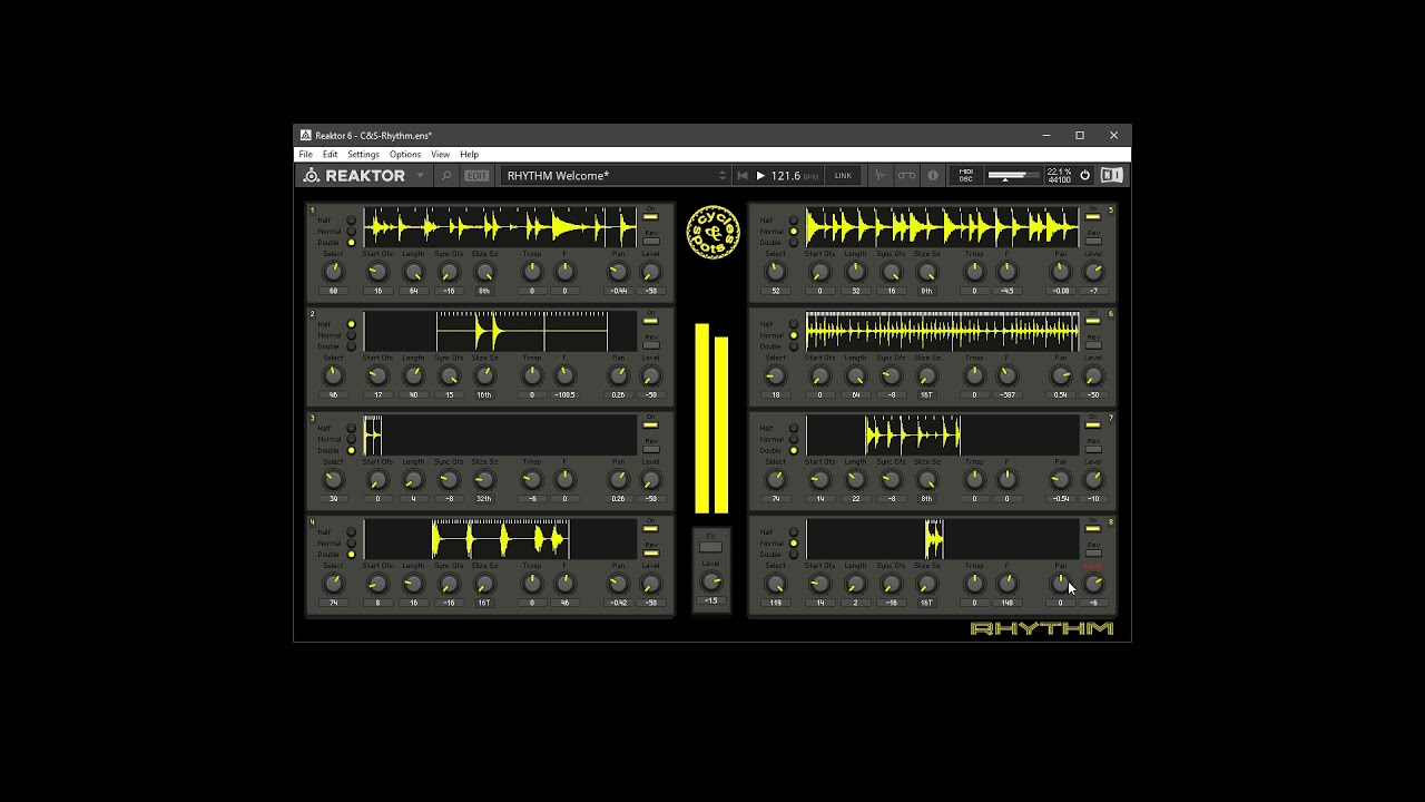 Video related to Reaktor Rhythm