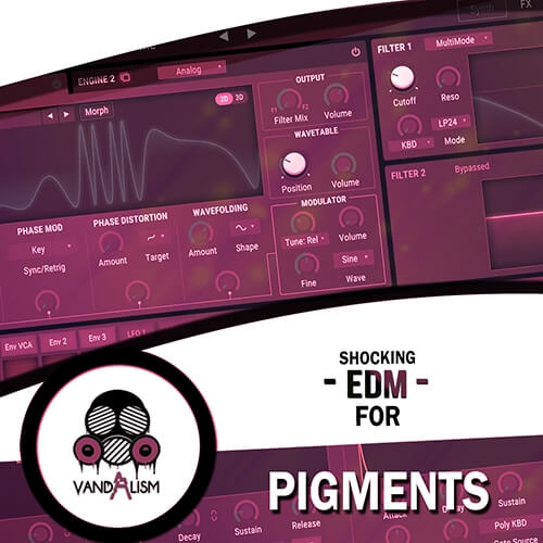 Shocking EDM For Pigments