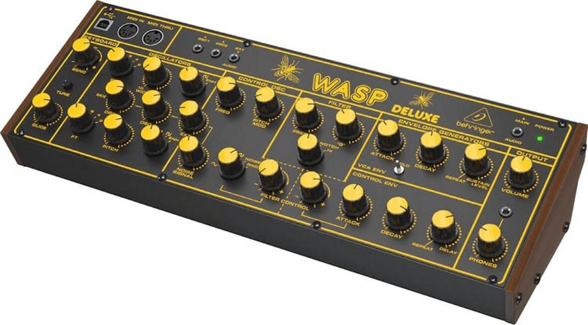Behringer Announces The Wasp, Clone Of The 1978 EDP Wasp Synth