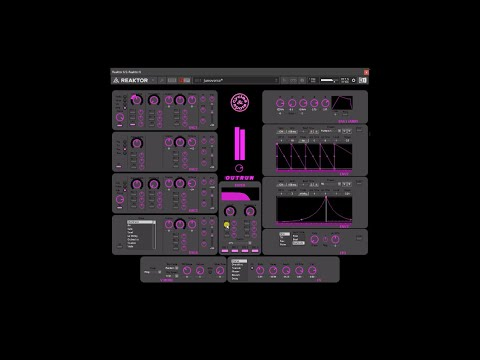 Video related to Reaktor Outrun