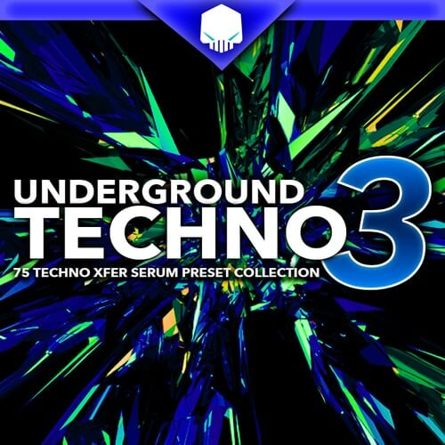 Underground Techno V3 for Xfer Serum