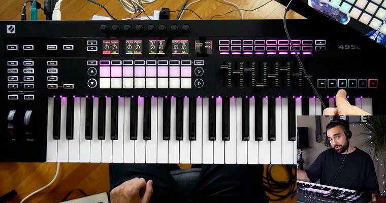 novation-sl-mkiii-hardware-arp-sequencer