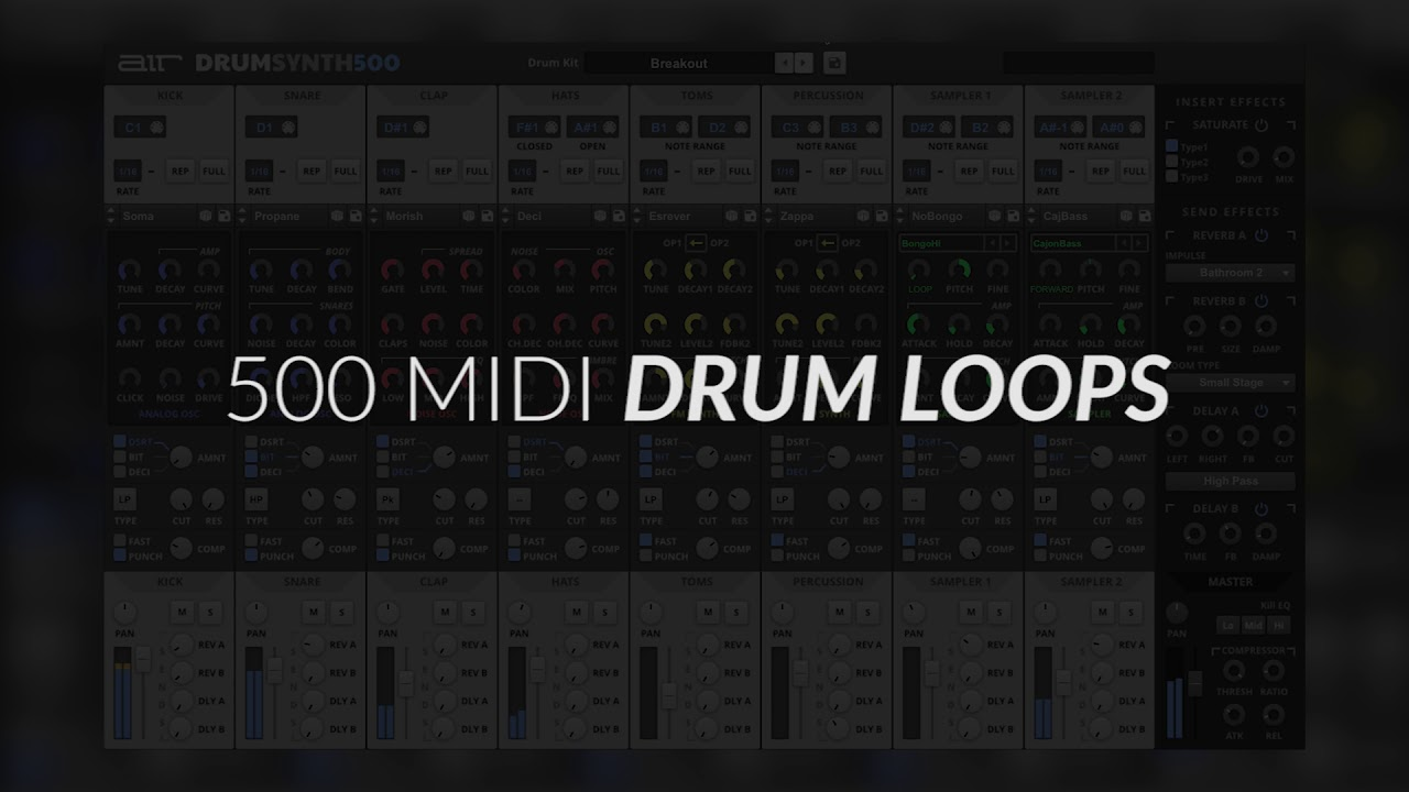 Video related to Drum Synth 500