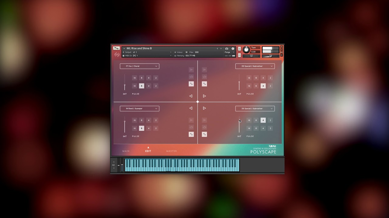 Video related to Synths 3 Polyscape