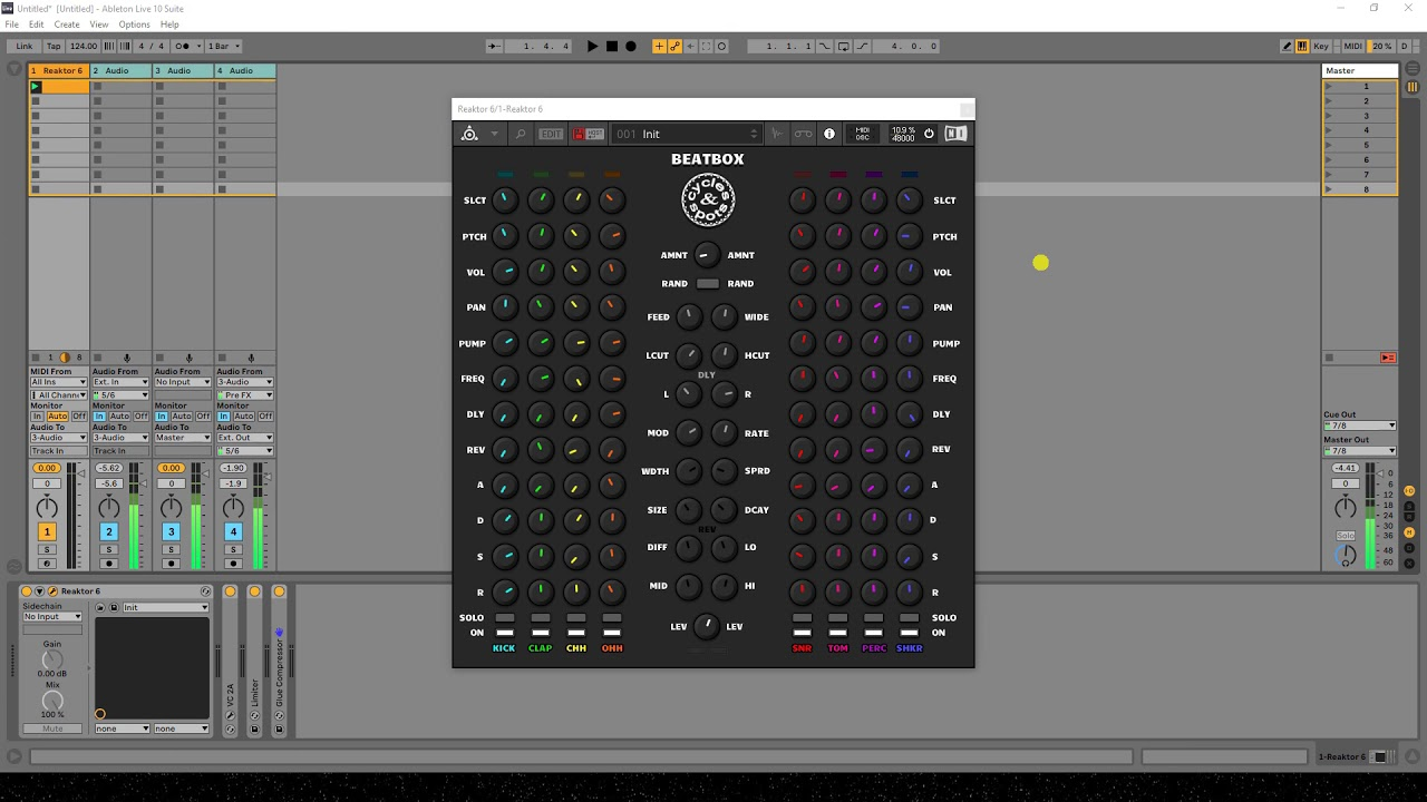 Video related to Reaktor Beatbox