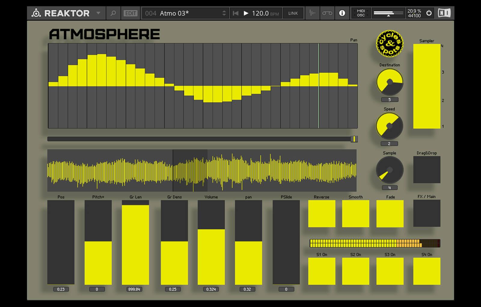 Reaktor Atmosphere