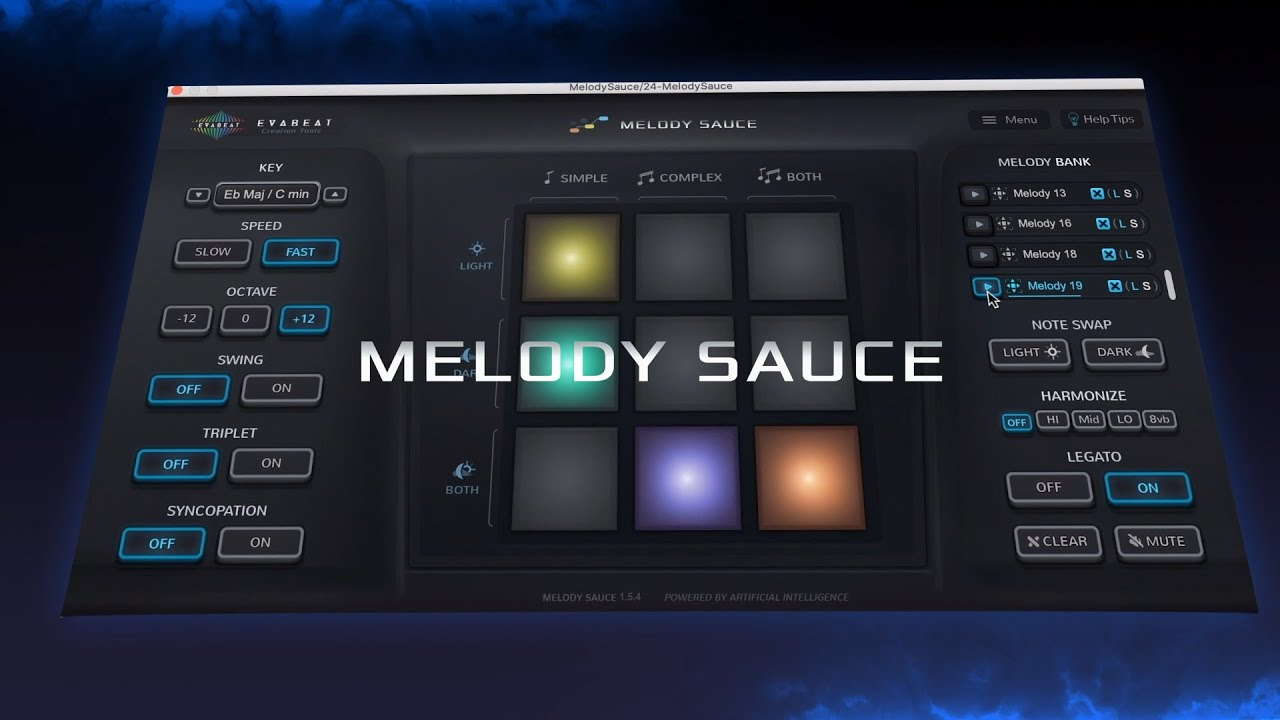 Video related to Melody Sauce