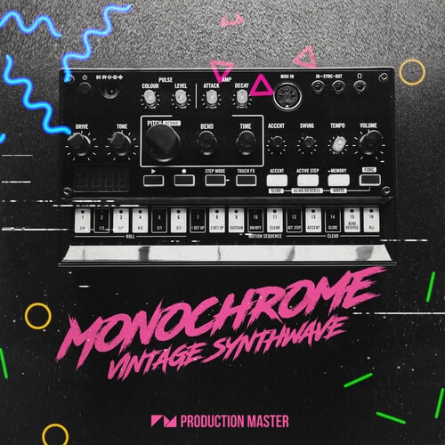 Monochrome - Vintage Synthwave