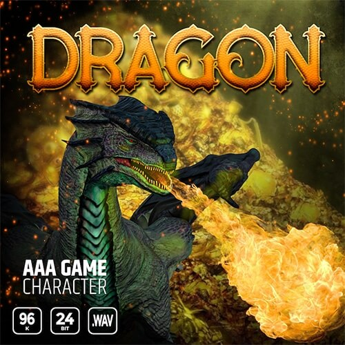 AAA Game Character Dragon