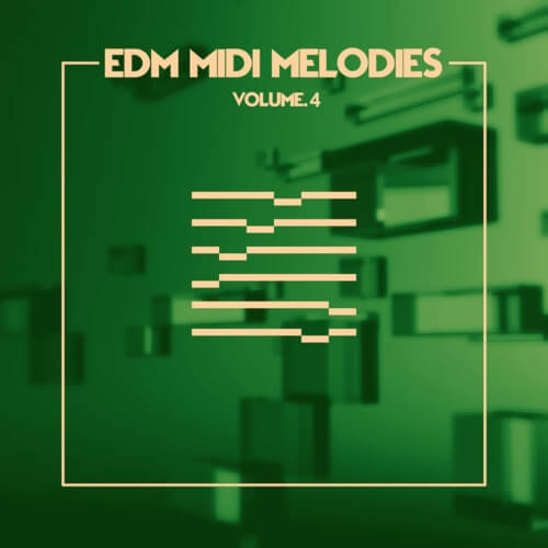 EDM MIDI Melodies Vol. 4
