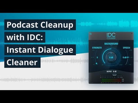 Video related to IDC: Instant Dialogue Cleaner