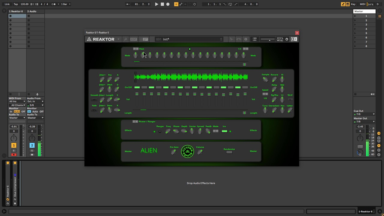 Video related to Reaktor Alien