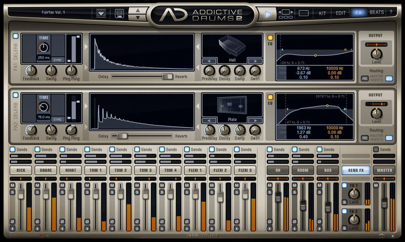 Addictive Drums 2 - ADSR