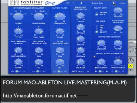 Video related to FabFilter One
