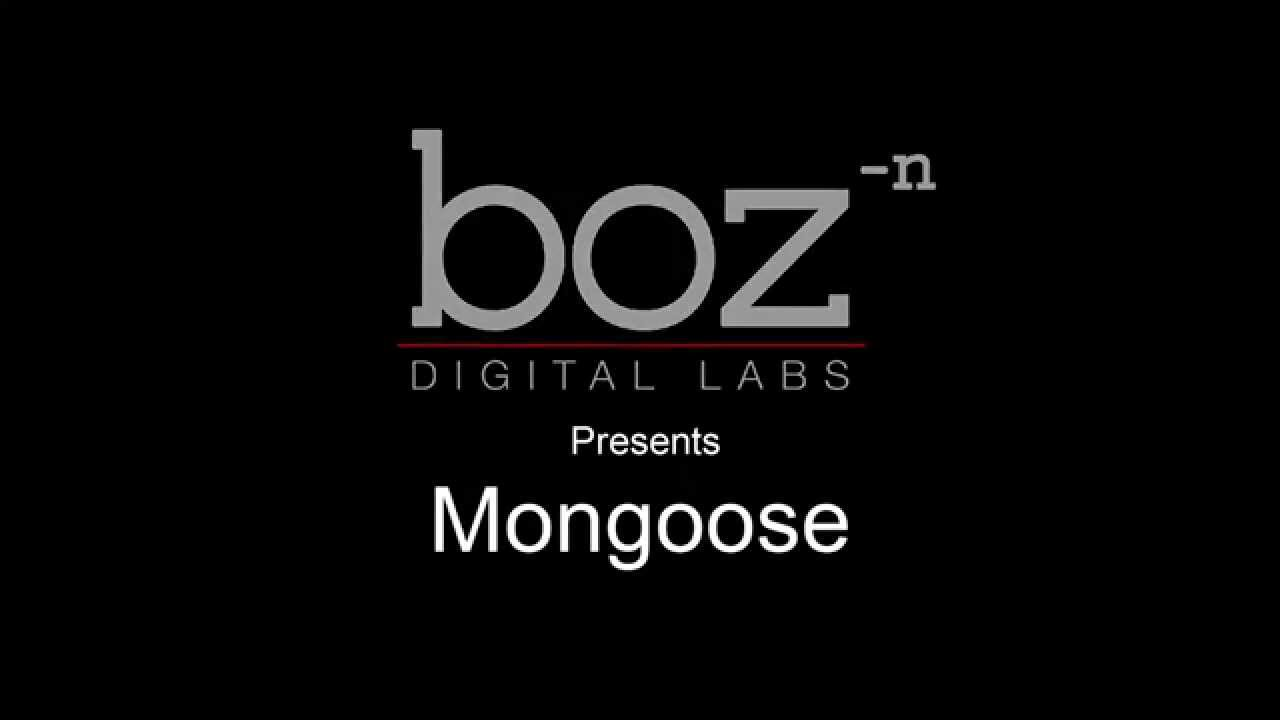 Video related to Mongoose