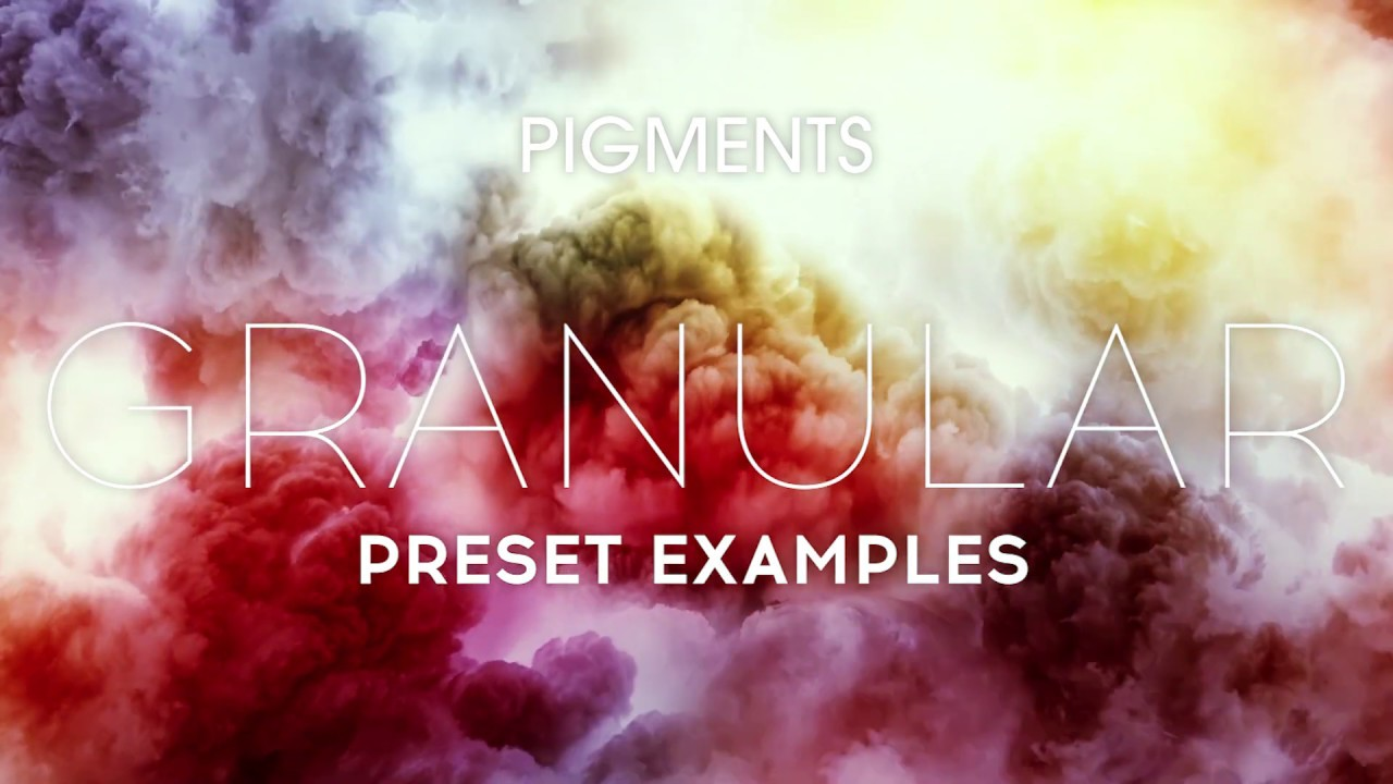 Video related to Pigments 3