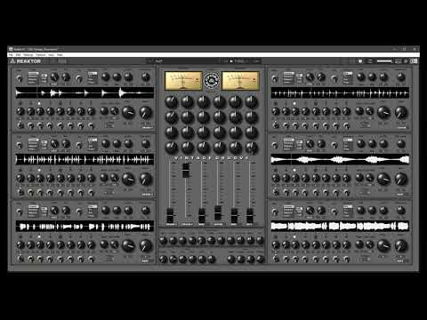 Video related to Reaktor Vintage Groove