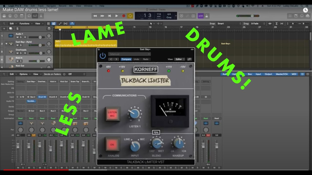 Video related to Talkback Limiter