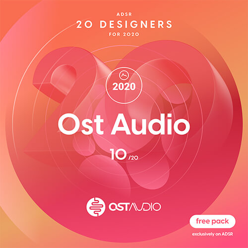 ADSR 20 Designers for 2020 - OST AUDIO