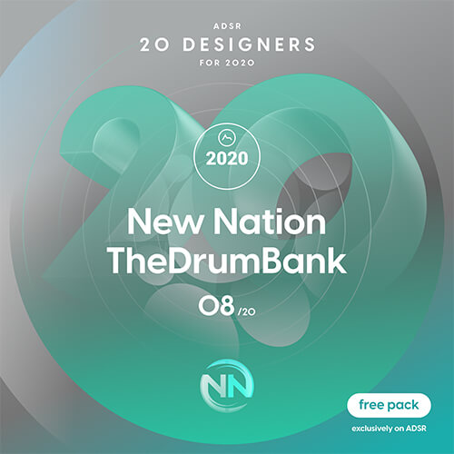 ADSR 20 Designers for 2020 - NEW NATION & THEDRUMBANK