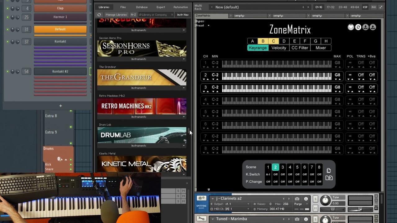 Video related to ZoneMatrix