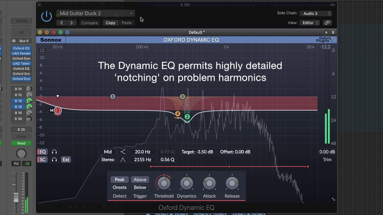 Video related to Oxford Dynamic EQ