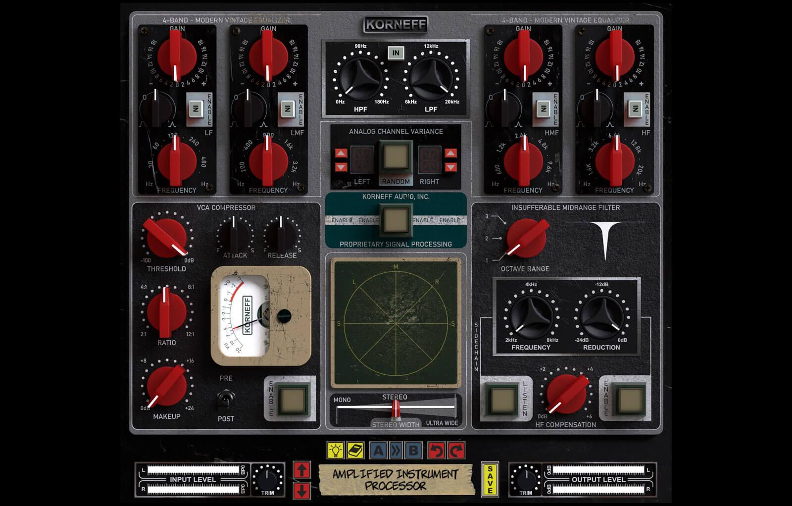 Amplified Instrument Processor