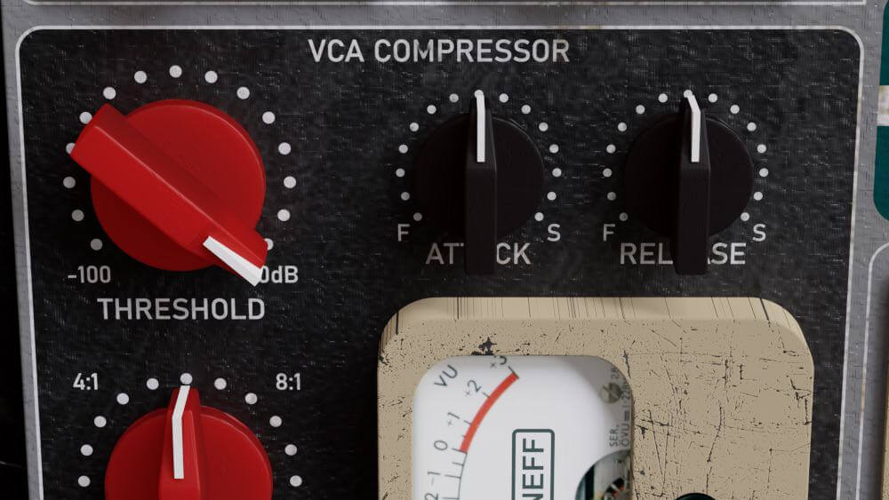 Amplified Instrument Processor - ADSR