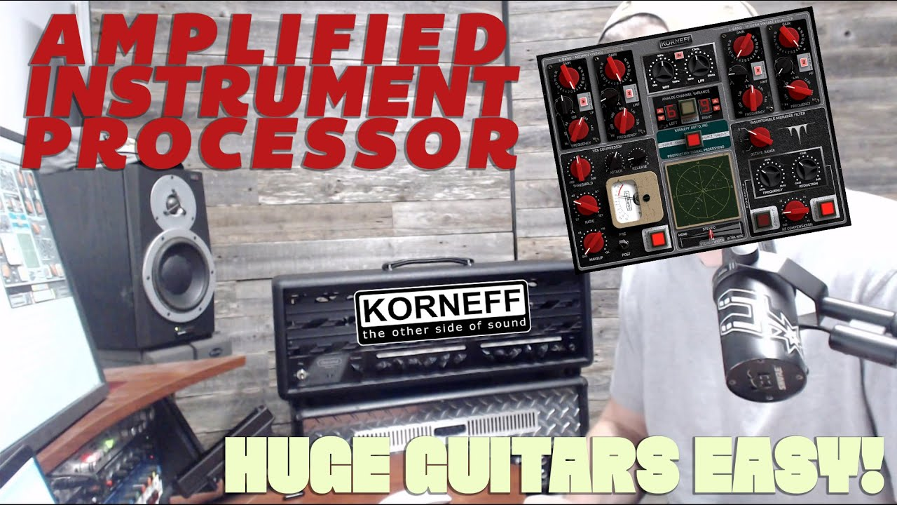Video related to Amplified Instrument Processor