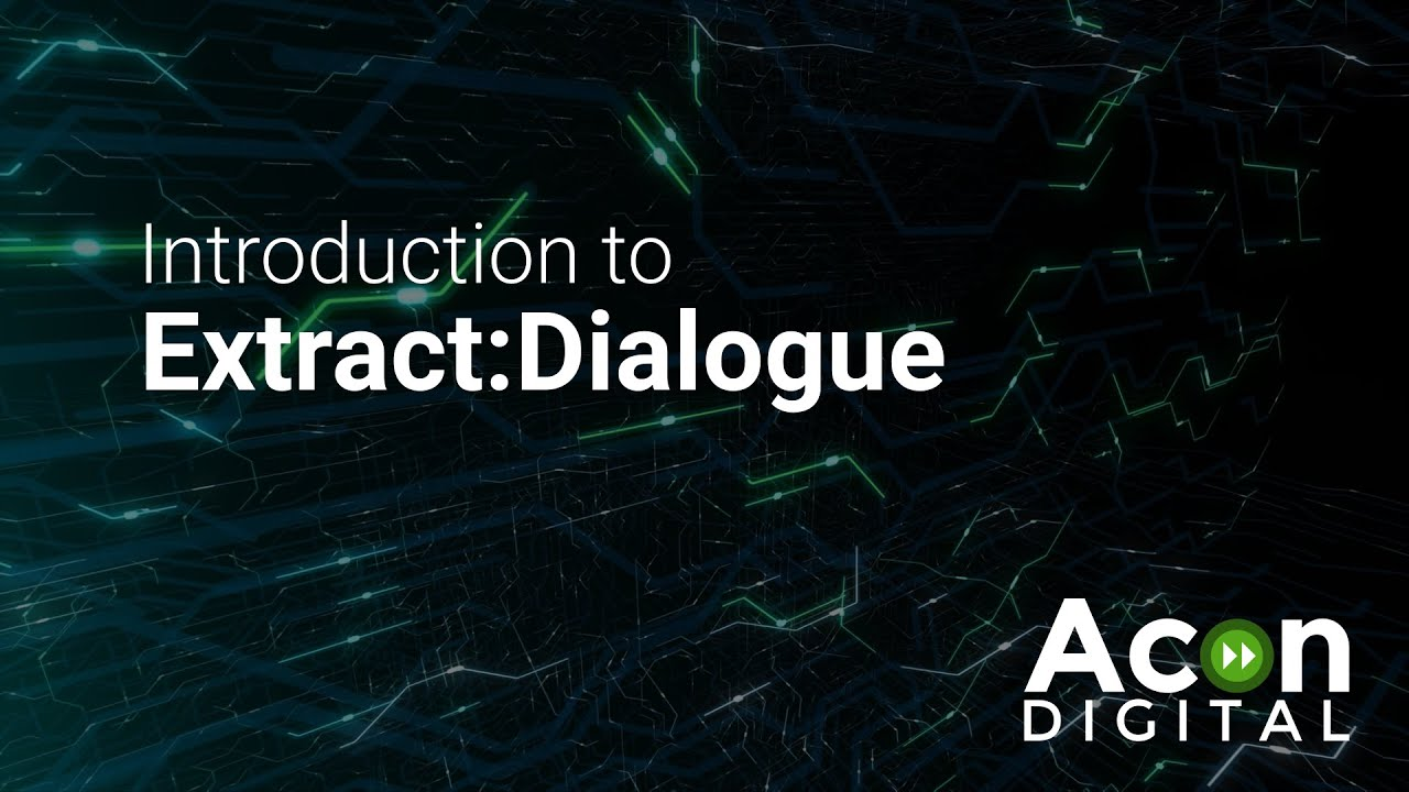 Video related to Extract:Dialogue
