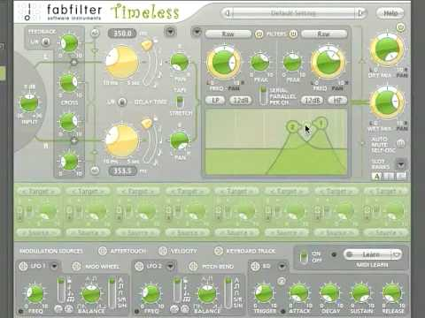 Video related to FabFilter Timeless 2